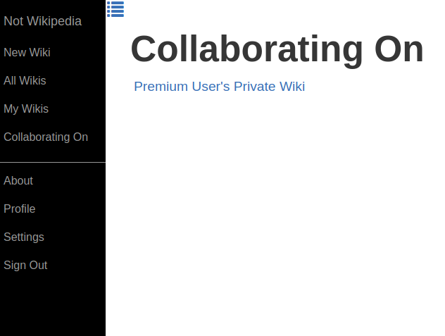 Fig 4: Standard User, Collaborating On